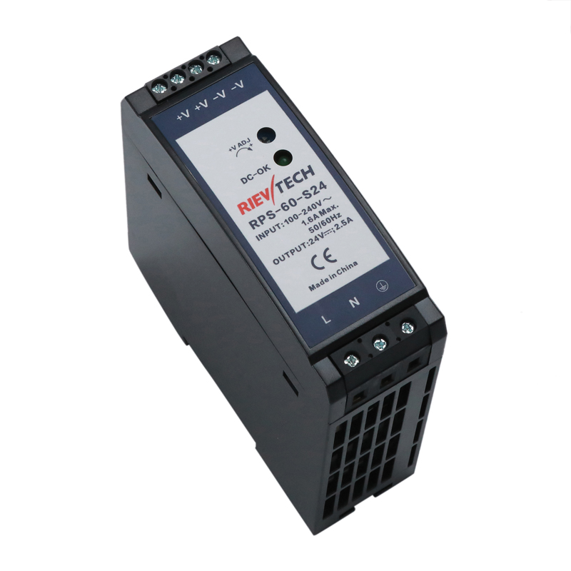 60W-DIN Rail switching power supply RPS-60-S series